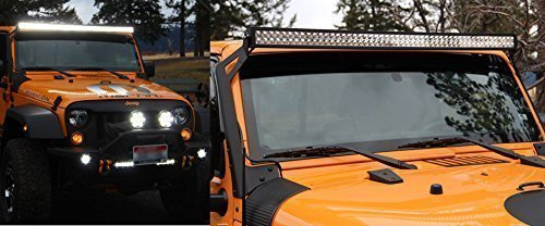 Zhol 00173 300w led lights bar 20000 lm for off road 44 suv utv zhol 00173 300w led lights bar 20000 lm for off road 44 suv utv atv and jeep 50 inch aloadofball Image collections