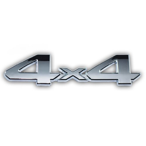 Chrome 4x4 Emblem Badge For Truck Suv Pickup Rear Tailgate